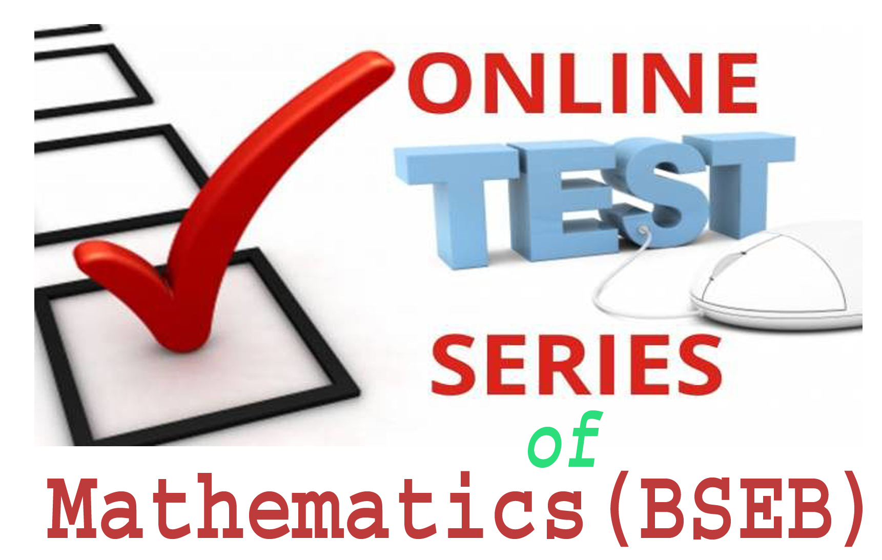 Mathematics (12th) Test Series -1